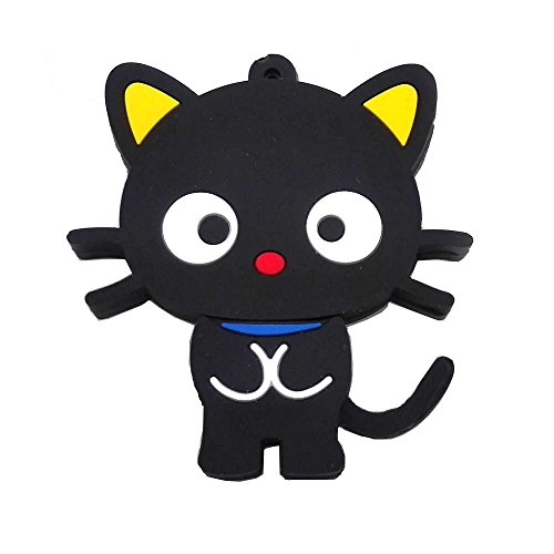 - Aneew 16GB Animal Cartoon Black Cat Model USB Flash Drive Pendrive Memory Thumb Stick