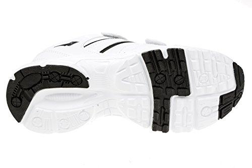 gibra - Zapatillas de Material Sintético para mujer blanco / negro