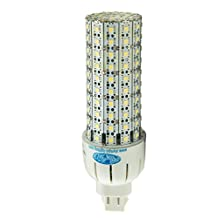 18W Slim Cluster LED Bulb 5500K G24 4-Pin Plug in Replacement for 200W Incandescent, 42W CFL, 70W HID32W CFL