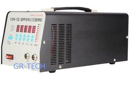 gr-tech Instrumento® yjdh-1 Ultrasonic Welding Machine Hornear Lavadora de reparación, soldadura en frío, Casting defecto Reparación Lavadora 220 V: ...