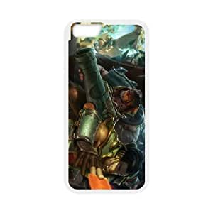 iPhone 6 Plus 5.5 Inch Cell Phone Case White League of Legends Cutpurse Twisted Fate KWI8910064KSL