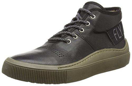 Fly London Sneaker Herren Seek337fly Schwarz (noir (nicotine) 000)