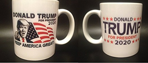 (Donald Trump For President 2020 Coffee Mug Keep America Great (2 Sided Design))