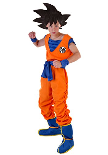 Goku Costume for Kids Boys Dragon Ball Z Costume Small (4-6) ()