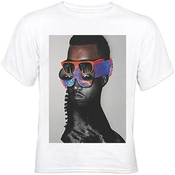 Taffy Tees Kanye West Donda J45 White T Shirt X Large Amazon Co Uk Clothing