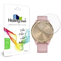 Healingshield Screen Protector Anti-Fingerprint Anti-Glare Matte Film Compatible for Garmin Vivomove 3S [Front 2pcs]
