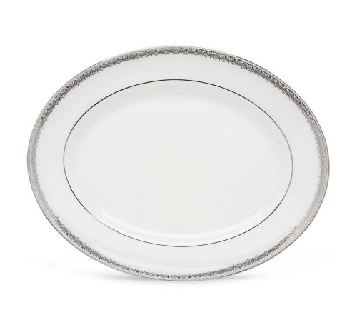 Lenox Lace Couture Oval Platter 13.0