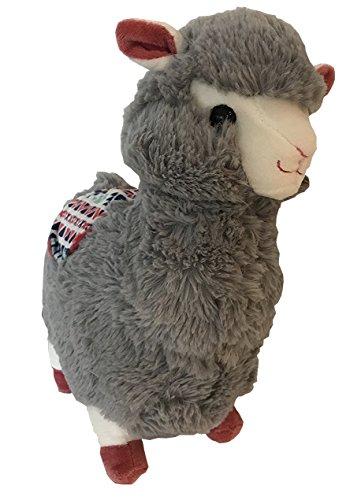 Toys Alpaca (Llama Alpaca Plush Toy 13 Inches (grey))