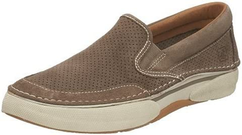 Sperry Largo Slip On Mens, Taupe Suede