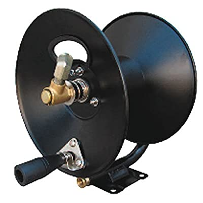 """General Pump D30002 3/8"""" x 100' Steel Hose Reel with Swivel Arm and Mounting Bracket, 4000 PSI"""