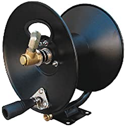 "General Pump D30002 3/8"" x 100' Steel Hose Reel with Swivel Arm and Mounting Bracket, 4000 PSI"
