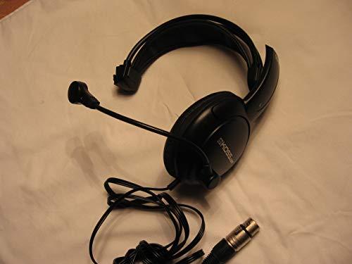 (Single muff Intercom Headphones with Female XLR Four pin Connector Clearcom)