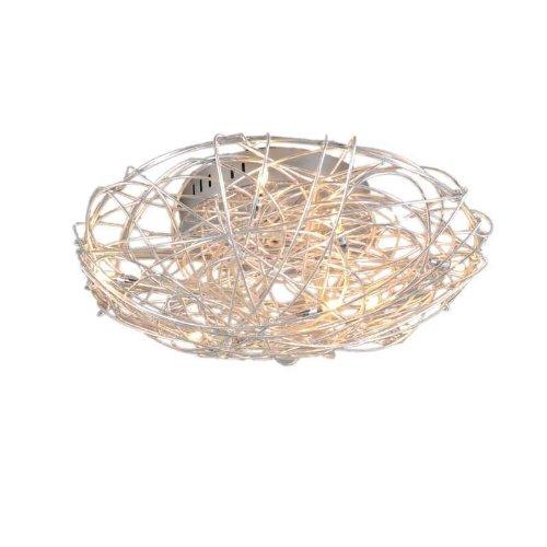 QAZQA Design / Modern / Ceiling Lamp / Ceiling Flush Light Draht ...