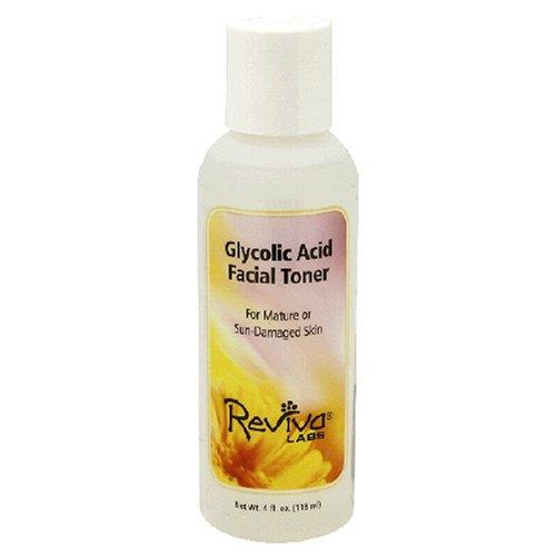 Glycolic Acid Toner Reviva 4 oz Liquid