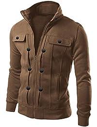 Amazon.com: Brown - Lightweight Jackets / Jackets & Coats ...