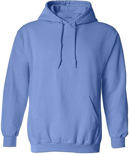 Joe's USA - Big Mens Size Medium Hoodie Sweatshirts-M in Carolina - Carolina Sleeve Usa Long