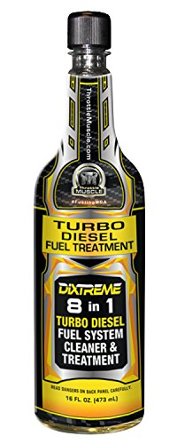 Throttle Muscle TM8674 DiXtreme 8 in 1 Turbo Diesel Fuel Treatment and Fuel System Cleaner Diesel Extreme