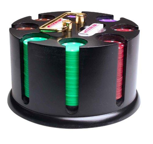 (Deluxe Revolving Poker Rack)