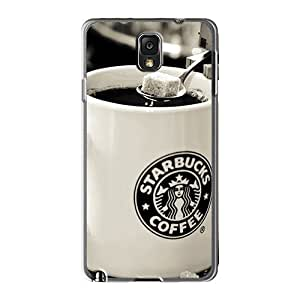Tpu Case Cover For Galaxy Note 3 Strong Protect Case - Danbo Starbucks Design