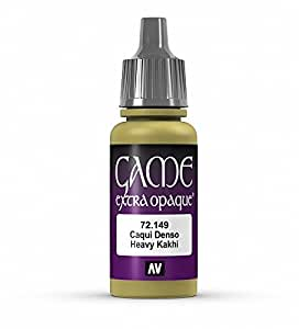 Vallejo Game Color Heavy Kakhi X-Opaque Paint, 17ml