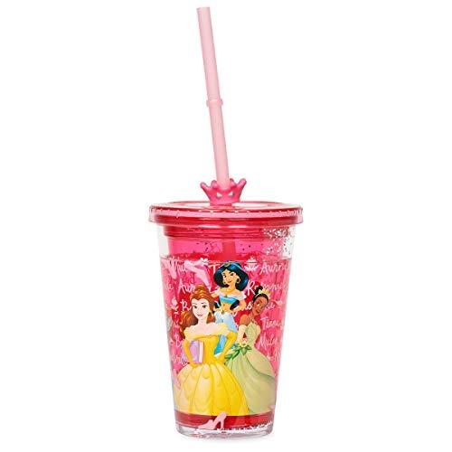 Disney Princess Tumbler with Crown Straw