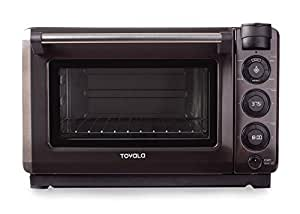 Tovala Gen 2 Smart Steam Oven with Multi-Mode Programmable Cooking, Small, Black and Stainless
