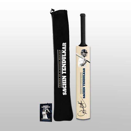ICC Official Memorabilia Sachin Tendulkar Facsimile Mini Bat (Brown) ()