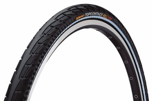 Continental Top Contact II Fold Reflex Bike Tire Black 700cm x 37 [並行輸入品] B0784H5371