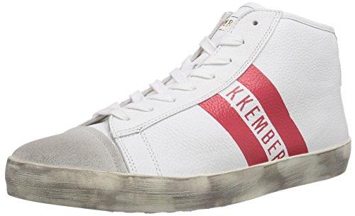Bikkembergs 660,291 Hommes Haut Chaussures De Sport Rouge (blanc / Rouge)