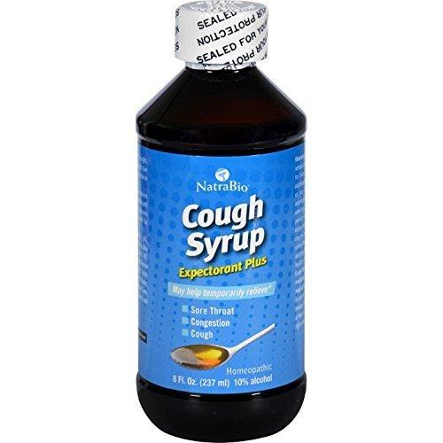 Natra Bio Cough Syrup Adult Formula 8 Fz