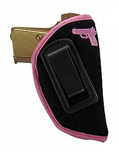KING HOLSTER Inside The Waistband IWB Concealed Gun Holster for Women fits Taurus Spectrum 380 | PT-22 | PT-25 | PT-738 / TCP