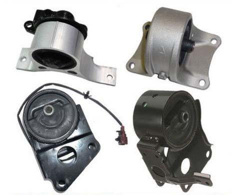 (M011 7358 7347 7349EL 7348 02-06 Nissan 3.5L Front & Rear & Right & Trans Set 4pcs Engine Motor Mount Altima Quest 02 03 04 05 06)