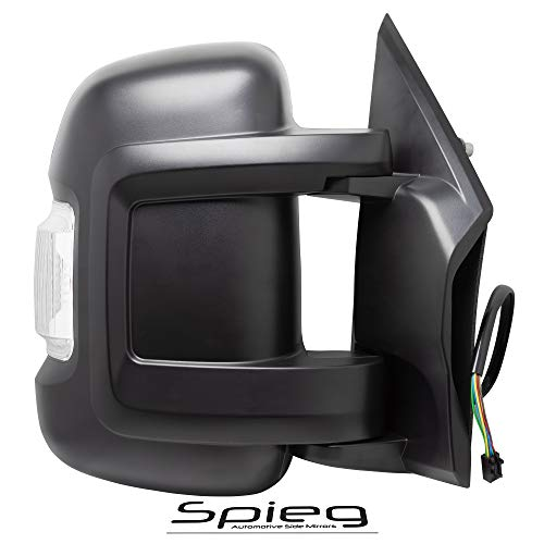 (Spieg 5VE98JXWAD Side Mirror Replacement for RAM Promaster 1500 2500 3500 Manual w/Turn Signal Light Passenger Right)
