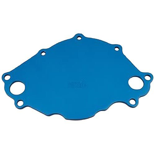 Meziere WP113B Blue Water Pump Back Plate for Small Block Ford by Meziere