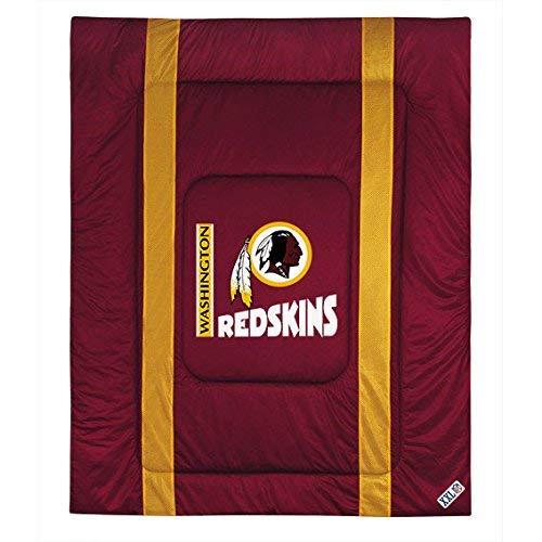 NFL Washington Redskins Twin Sideline Comforter (Comforter Coverage Sports Nfl)