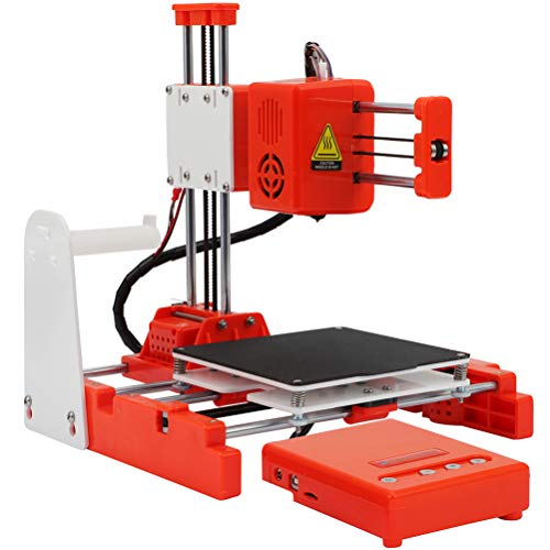 X1 3D Printer Mini Desktop Kit for Beginners Kids Teens 3D Printer with PLA Filament Magnetic Removable Plate USB Cable…