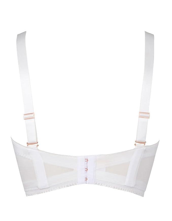 3065fdd9042d Gossard 66% Polyamide, 18% Polyester, 16% Elastane White: Gossard:  Amazon.co.uk: Clothing