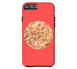 Metaphysics no2 iPhone 6 Coral red Tough Phone Case - Design By Humans