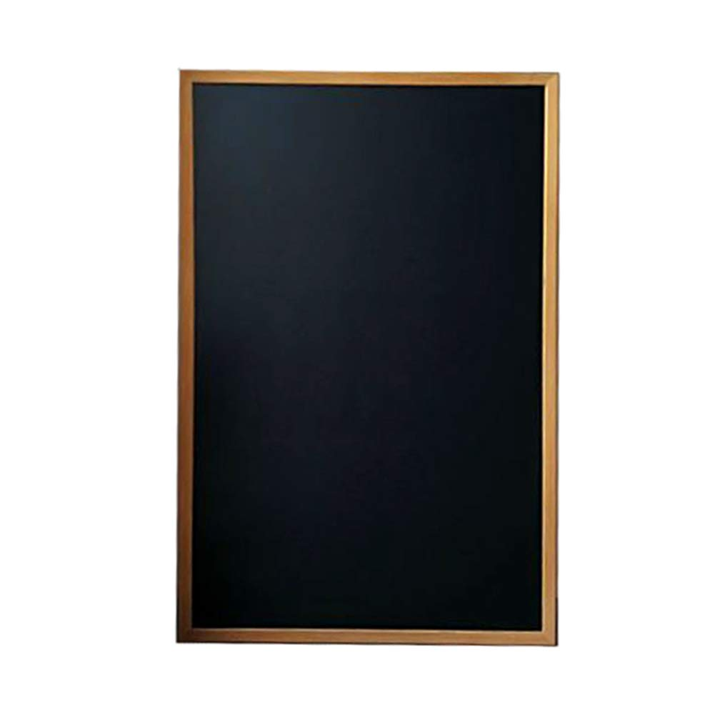 LIANGJUN Message Board Chalkboards Rectangle Retro Magnetic Wall-Mounted Multifunction Family Graffiti Cafe,Customizable, 5 Sizes (Color : Wood, Size : 80x100CM)