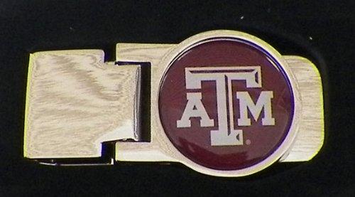aminco NCAA Texas A&M Aggies Unisex InternationalNCAA Classic Money Clip, Team Color, CCP-MC-709-74 ()