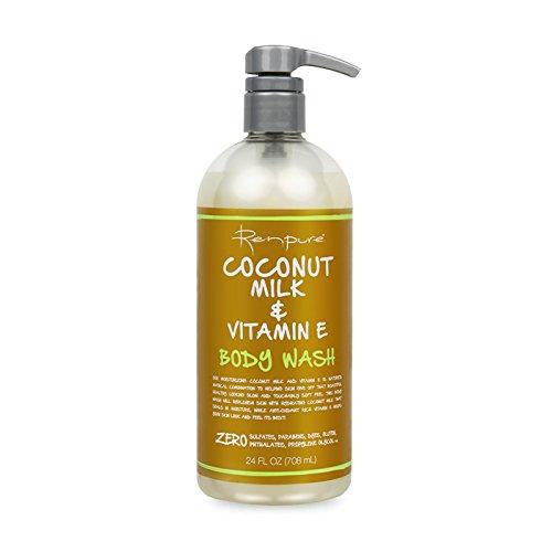 Renpure Coconut Milk & Vitamin E Body Wash (24oz)