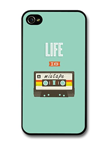 Cool Life is a Mixtape Cassette Inspirational Music Design case for iPhone 4 4S