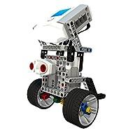 RoboticsU | Ultimate Custom Self Driving Robots Vehicle Kit -- STEM Education - Premium Quality -- DIY Programmable Robot Kit for Kids to Learn Coding, Robotics, Electronics - (Interactive App Contr