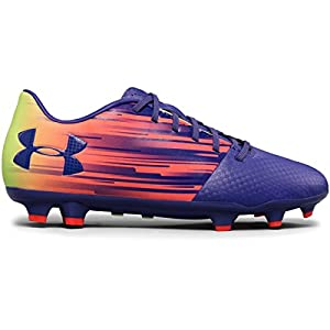 Under Armour Women's Spotlight DL FG Soccer Cleat Chisel-X-Ray/Ridge Reapera/Snow Size 6 M US