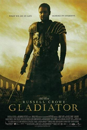 Gladiator Movie One Sheet Cool Wall Decor Art Print Poster 27x39 - 39 Print Poster Inch Art