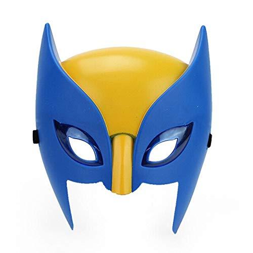TANGGOOO Glowing Superhero Cosplay Mask Man Halloween Mask Superhero Man Sponge S Party Mask Must-Have Gift Ideas The Favourite Toys Toddler Superhero Unboxing Tool