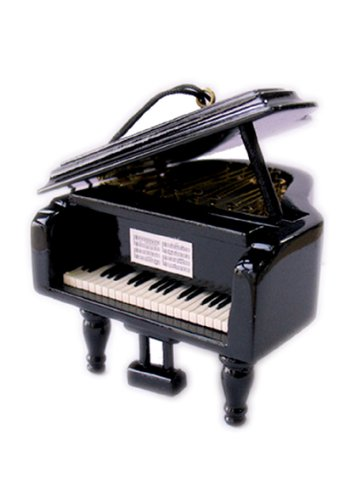 (Musicbox Kingdom 21009 Small Wooden Piano Music Box, Plays The Melody Magic Flute)