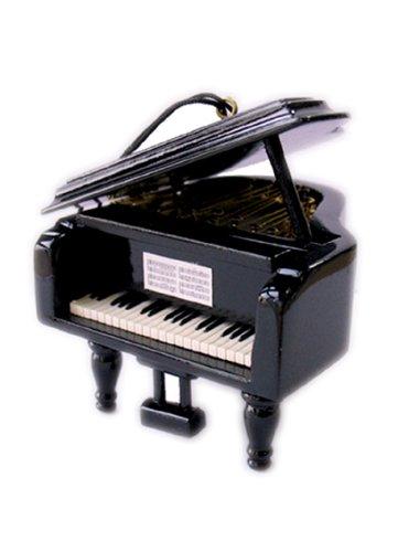 Musicbox Kingdom 21009 Small Wooden Piano Music Box, Plays The Melody Magic -