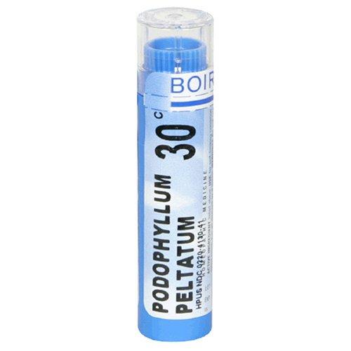 Médicaments homéopathiques Boiron Podophyllum Pelatum, Granulés 30C, 80-Count Tubes (Pack de 5)