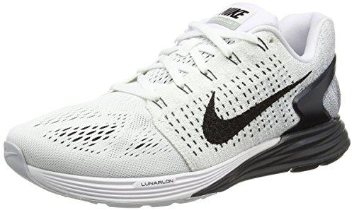 Nike Ginnastica Uomo Bianco Scarpe da Lunarglide 7 rIqF6r